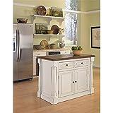Kyпить Home Styles 5020-94 Monarch Kitchen Island, Antique White Finish на Amazon.com