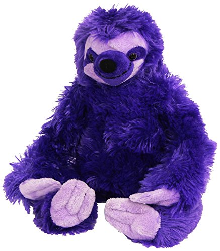 Wild Republic Three-Toed Sloth Plush, Stuffed Animal, Plush Toy, Gifts For Kids, Pink, Cuddlekins 12&Quot; - 0, Months