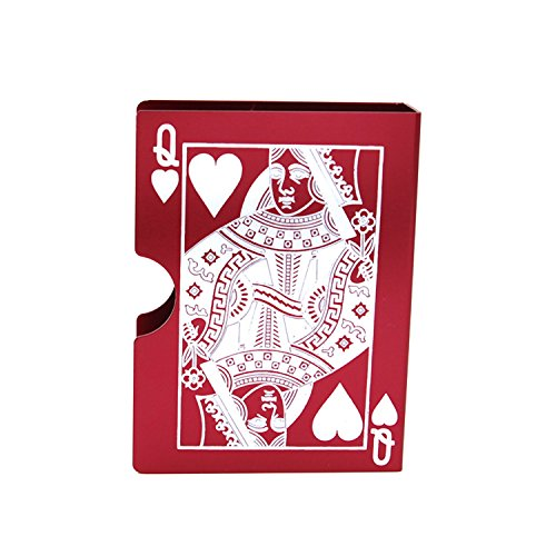 Aluminum Bicycle Card Protector Poker Deck Box Use For Storage Magical The Gathering Cards Container by Deck Boxes (Image #3)