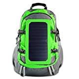 PowerNeed Sunen Backpack with solar charger 6,5W Green