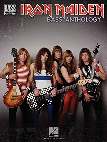 Iron Maiden Bass Anthology (Bass Recorded Versions) - Iron Maiden Guitar Tabs
