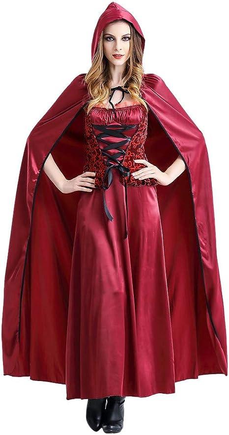 Fossenfeliz Disfraz de Caperucita Roja Mujeres Divertido Sexy ...