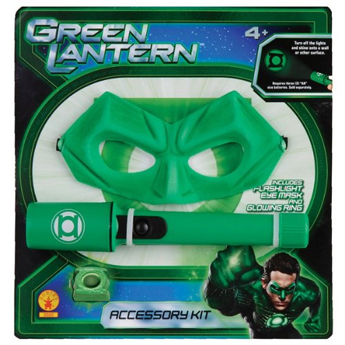 Rubies Green Lantern Accessories Kit - Flashlight With