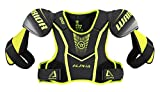 Warrior QX5SPJR7 QX5 Jr Shoulder Pad, Black/Yellow, Medium