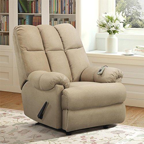 dorel-living-padded-dual-massage-recliner-tan