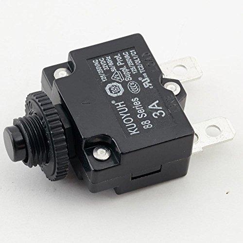 Horizon 063270-A Circuit Breaker, 3-amp, 125-volt Genuine Original Equipment Manufacturer (OEM) ()