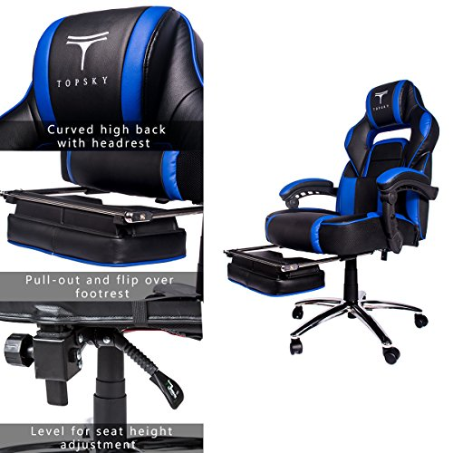 51JduZ5jkcL - TOPSKY-High-Back-Racing-Style-PU-Leather-Executive-Computer-Gaming-Office-Chair-Ergonomic-Reclining-Design-with-Lumbar-Cushion-Footrest-and-Headrest