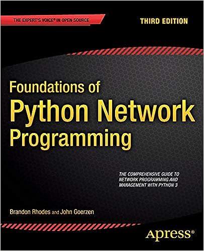 Descargar Foundations Of Python Network Programming PDF