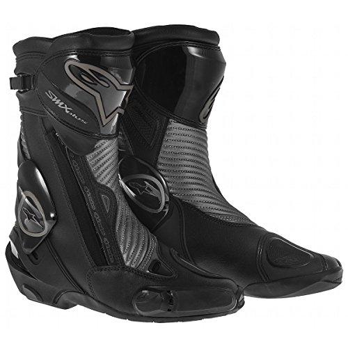 Alpinestars Smx 4 Boot (Alpinestars SMX Plus Boots - 4 US / 37 Euro/Gunmetal)
