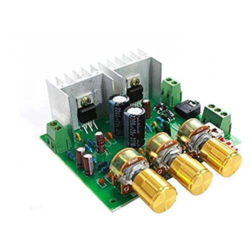Diy electronic kits amazon top cofrld 2 channel 20 15w15w tda2030a hifi stereo amplifier amp board diy kit solutioingenieria Images