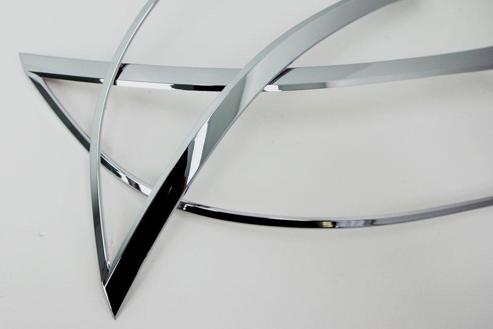 Verchromte Scheinwerferrahmen passend f/ür Sorento XM 2010-2012