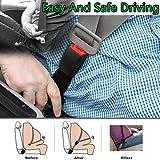 Seat Belt Extender,Car Seat Belt Extender,Universal Car Seat Belt Extender,Seat Belt Extenders for Cars,14.2'' Auto Belts Extender,Seatbelt Extenders for Child Car Seats,7/8'' Metal Tongue (Black)
