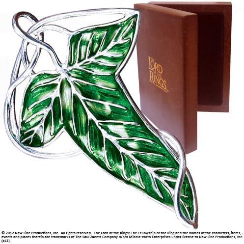 Broche Feuille elfique de la Collection Noble
