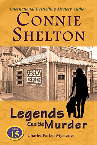 Legends Can Be Murder: A Girl and Her Dog Cozy Mystery (Charlie Parker Mystery Book 15)