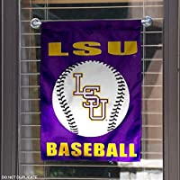 LSU Tigers Baseball Garden Flag and Yard Banner
