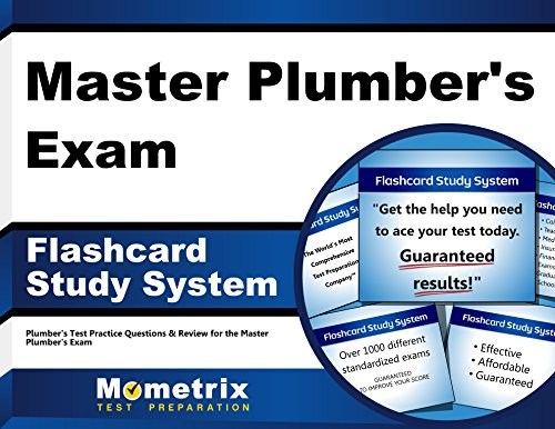 Master Plumber's Exam Flashcard Study System: Plumber's Test Practice Questions & Review for the Master Plumber's Exam (Cards)