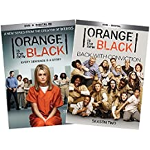 Orange is the new black Complete Seasons 1 & 2 Collection Set + UV Digital Copy