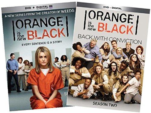 Orange is the new black Complete Seasons 1 & 2 Collection Set + UV Digital Copy (Orange Is The New Black Box Set)