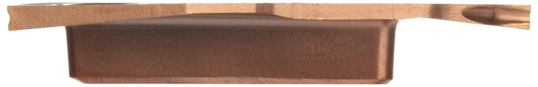Multi-Layer Coating T Insert Seat Size 0.0039 Corner Radius Pack of 10 CM Chipbreaker Sandvik Coromant CoroCut 3 Carbide Parting Insert N123T3-0150-0001-CM 3 Cutting Edges GC1125 Grade