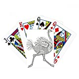 Bird Paint Running Long Poker Playing Cards Tabletop Game Gift