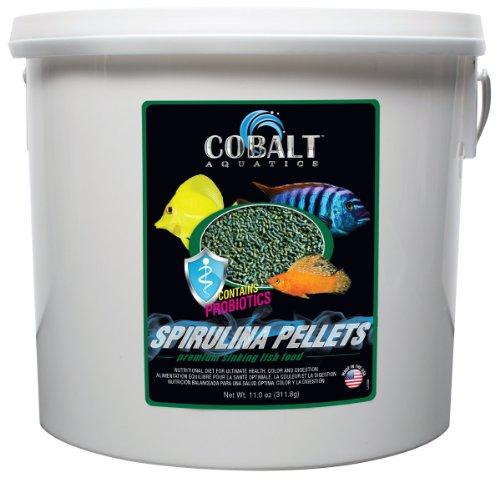 Cobalt Aquatics Spirulina Pellet, 8 lb by Cobalt