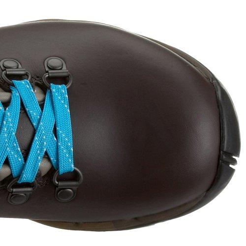 La Fuma - Zapatillas de senderismo de cuero para mujer Marrón