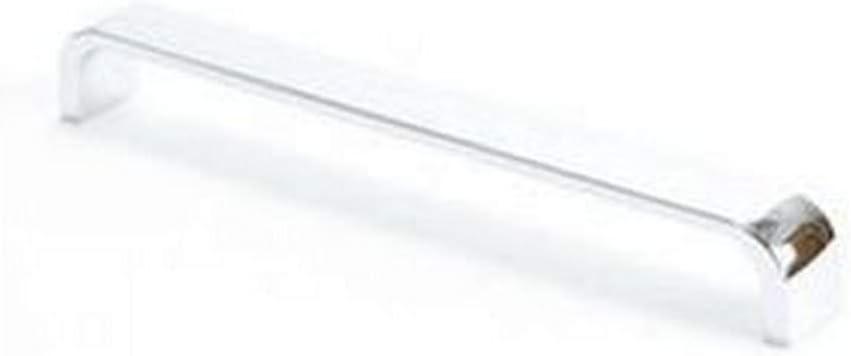 Berenson 4001-1VTN-P Euroline 192mm Center to Center Bar Cabinet Pull Polished Chrome