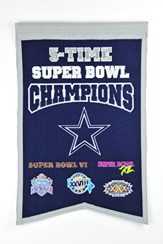 uper Bowl Champions Banner (Dallas Cowboys Fan Banner)