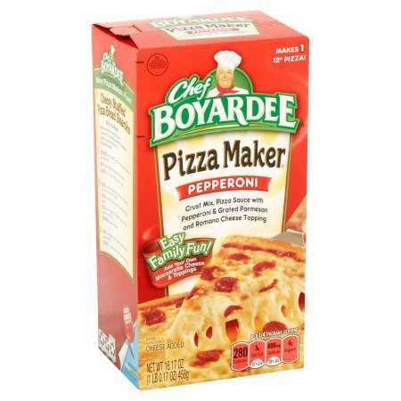 Chef Boyardee Pizza Kit, Pepperoni, 16.17 Oz (Pack of 6)