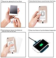 a6708bfd38c CHOETECH iPhone Qi Receptor, Receptor de Carga Inalámbrico/Ultra ...