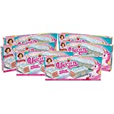 Little Debbie Unicorn Cakes, 48 Individually Wrapped Strawberry Cakes, 8 Count (Pack of 6)