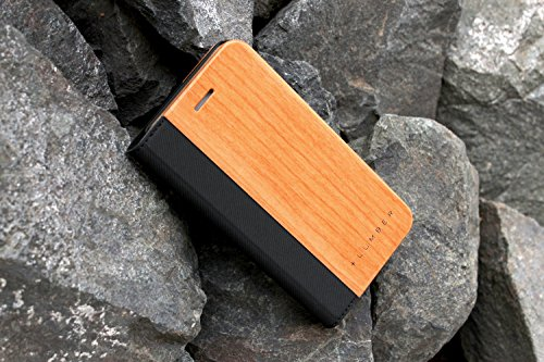 + LUMBER by Hacoa PL057 Wooden iPhone Case for iPhone 8/7 with Flip Cover (Walnut) 2 Hard case made with natural wood and corner bumper to protect your smartphone. Made to fit your iPhone 7 (4.7inch) offering a full access to all buttons. Flip cover with premium wood normally used in fine cabinetwork has a card slot.