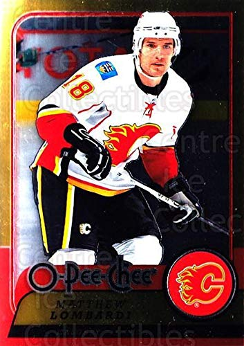- (CI) Matthew Lombardi Hockey Card 2008-09 O-pee-chee Metal (base) 390 Matthew Lombardi