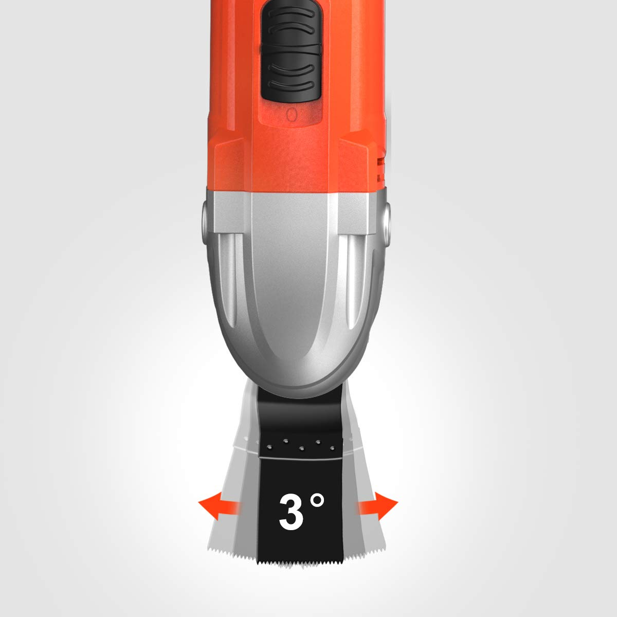 Lomvum 2.7 Amp Variable Speed 3/°Oscillating Angle 23000 OPM Oscillating Multi Tool with Tool-Free Accessory Replacement Free Blades Accessories Included Oscillating Tool