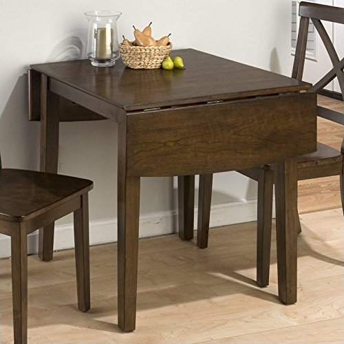 Jofran 342 Series Double Drop Leaf Dining Table in Taylor - Kitchen Table Leaf Drop