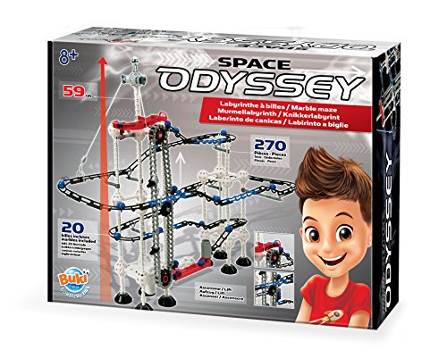 Buki Space Odyssey Marble Maze Labyrinth Set For Kids 8 and Up. 270 Pieces