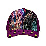 FKDBLZY Stran-ger Thin-gs Halloween Hat Adjustable Baseball Cap Unisex Purple