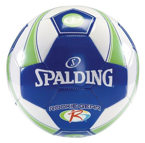 Spalding Rookie Gear Soccer Ball - Blue/Green - Size 3