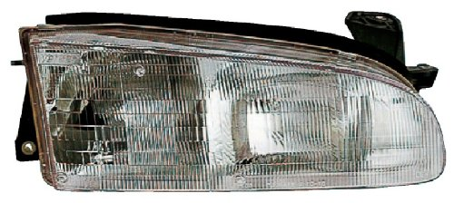 Geo Prizm Replacement Headlight Assembly - Driver Side (Geo Prizm Replacement Headlight)