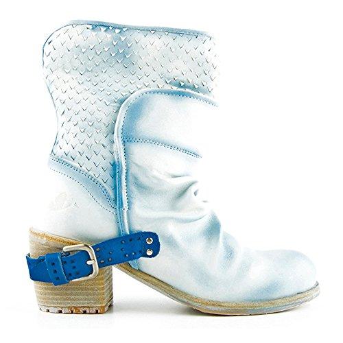 Felmini - Damen Schuhe - Verlieben Regua 8720 - Stiefel - Echte Leder - Blau