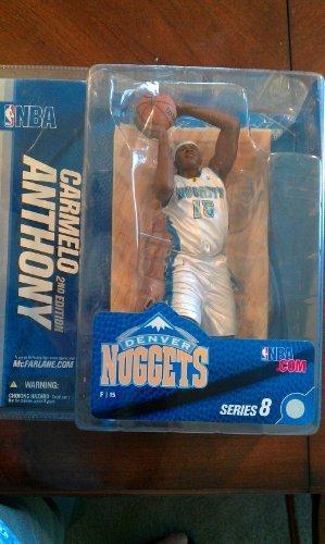 McFarlane's Sportspicks NBA Series 8 : Carmelo Anthony - White Jersey