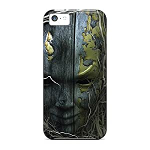 Awesome 3d Face Flip Cases With Fashion Design For Iphone 5c