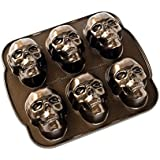 Amazon Com Wilton Dimensions Nonstick 3d Skull Pan