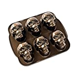 : Nordic Ware Haunted Skull Cakelet Pan