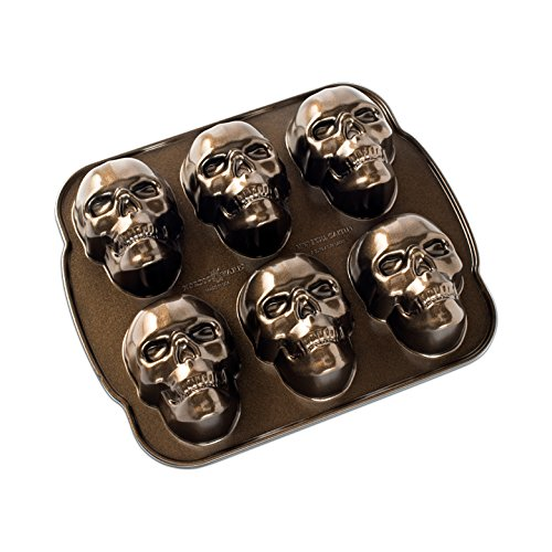 Nordic Ware Haunted Skull Cakelet Pan -