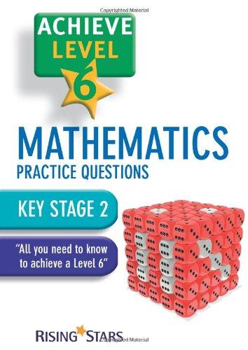 Achieve Level 6 Mathematics Practice Questions Pupil Book [Single ...