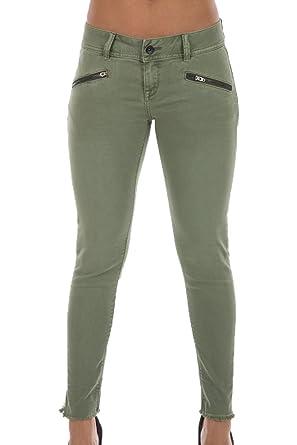 553cc5e3c2ca Superdry - Jeans - Femme Vert Kaki - Vert - 58  Amazon.fr  Vêtements ...