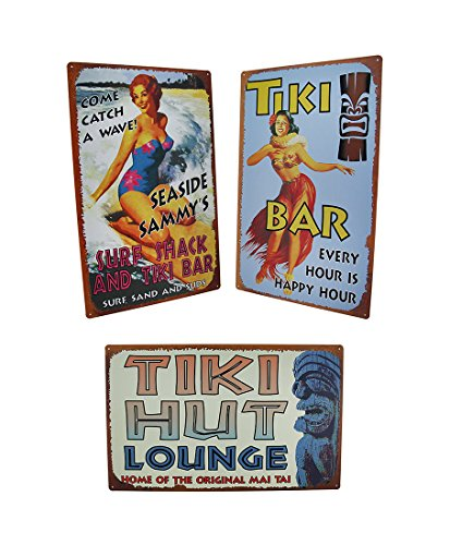 Tin Decorative Wall Plaques