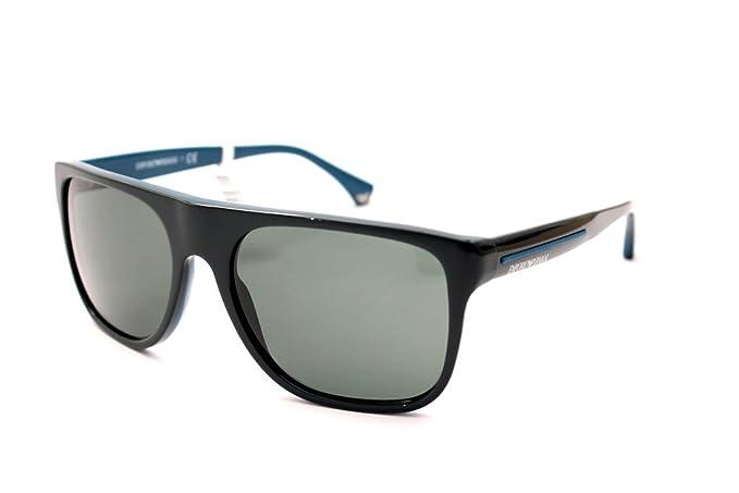 Gafas de sol Emporio Armani 4014 Azul Cuadrado: Amazon.es ...
