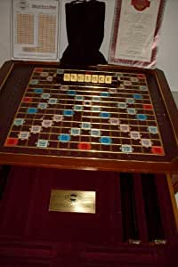The Franklin Mint Scrabble - The Classic Collector's Edition